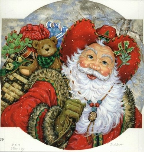 Christmas and New Year 5 - old postcards XX century ...