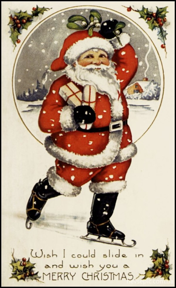 Christmas and New Year 2 - old postcards XX century ...