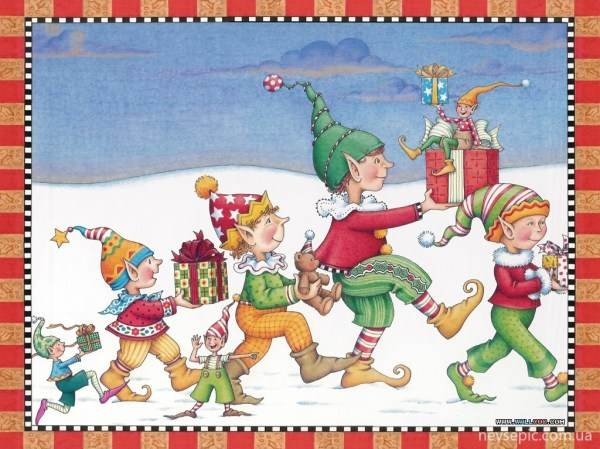 Christmas and New Year 3 - old postcards XX century ...