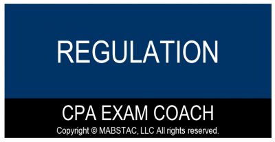Regulation (REG) CPA Exam Evening Classes Q1 (Starts March 7, 2021)