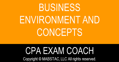 Business Environment and Concepts (BEC) CPA Exam Evening Classes Q2 (Starts June 6, 2021)
