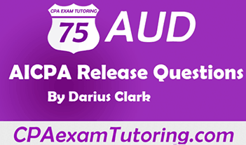 AUD AICPA release questions with answers