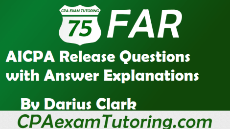 FAR aicpa Release Questions with Explanations
