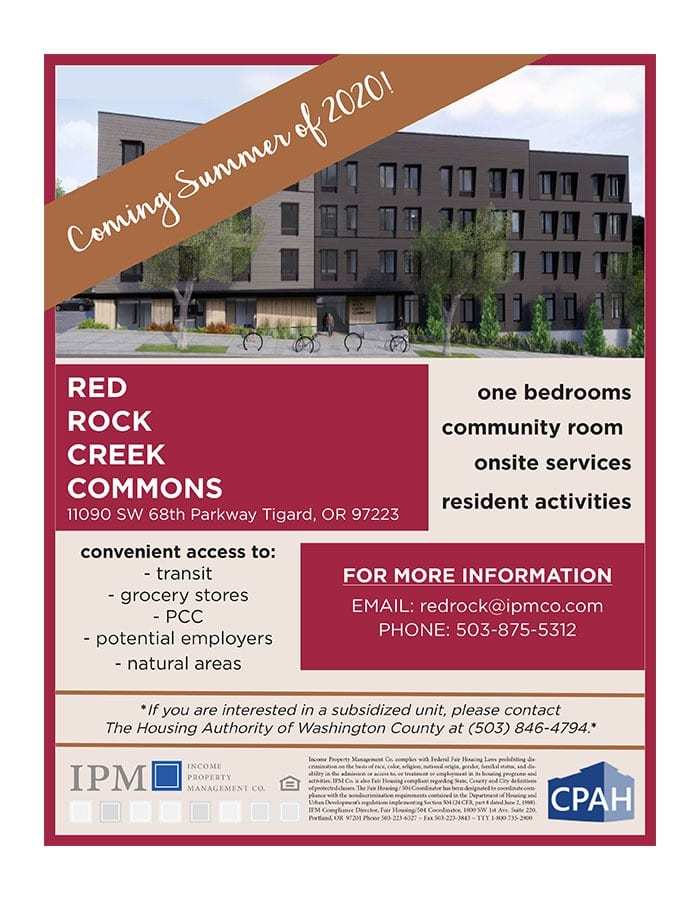 Red Rock Creek Commons Now Leasing