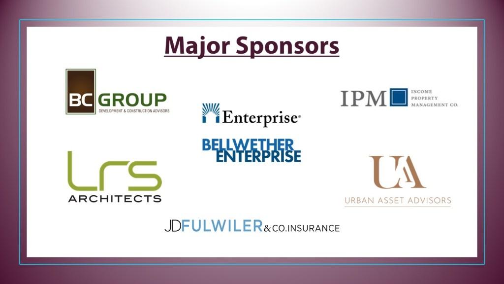Major Sponsors HWB 2021