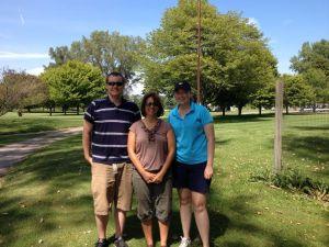 Mitch, Renee' & Emily