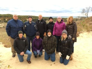 Our team at the Saugatuck Dune Rides