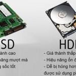 Ổ cứng SSD là gì? Có những loại nào? So sánh SSD và HDD