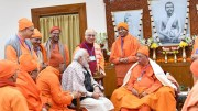 It is like coming back home: Modi on overnight stay at Belur Math