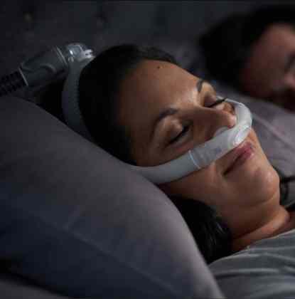AirFit P30i Photo View - CPAP Nasal Pillows Mask