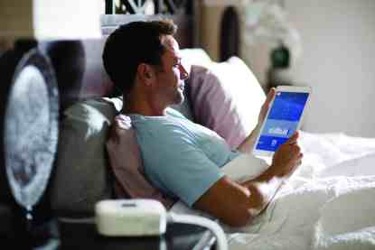 Viewing CPAP Stats on Tablet - cpapRX