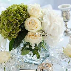 event decor, winter centerpieces