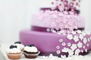 pink cake glam