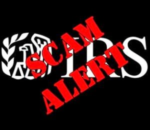 Don't Get Scammed – No IRS employee will ever call!