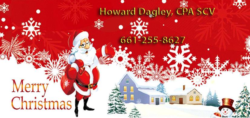 Happy Holidays   Howard Dagley, CPA