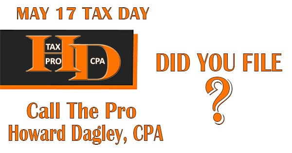 Time To Start The New Tax Year | Howard Dagley, CPA
