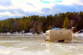 Trailer on Cedar Pond, Milan, NH