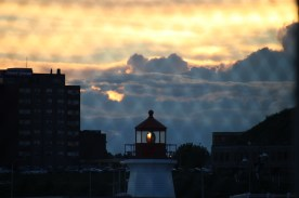 Canadian Coast Guard light house, Saint John, NB