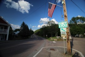 Intersection, Stowe, Vt.