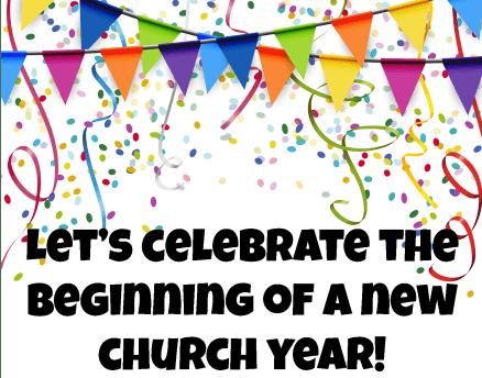 Celebrate New Church Year