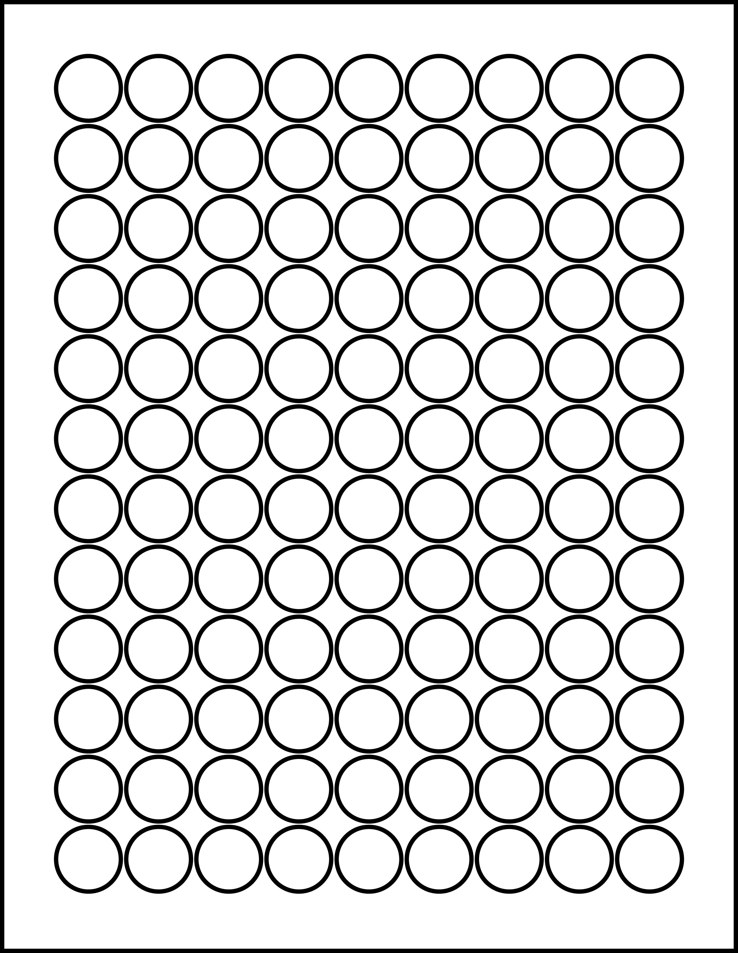 Circle Amp Oval Laser Label Sheets
