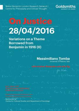 On Justice - 28/04/16