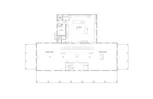 1926 Floor Plan Drawing