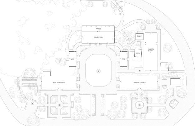 1931 Site Plan Drawing