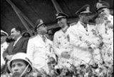 Antônio Carlos Muricy, Joaquim Justino Alves Bastos, Homero Souto de Oliveira, Paulo Guerra e outros na Parada da Vitória (24 maio 1964).