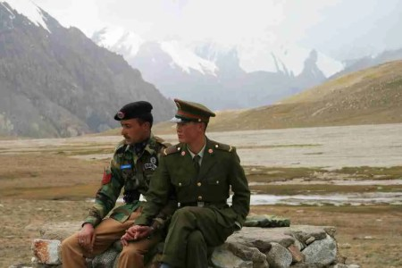 China Pakistan border Khunjerab KKH