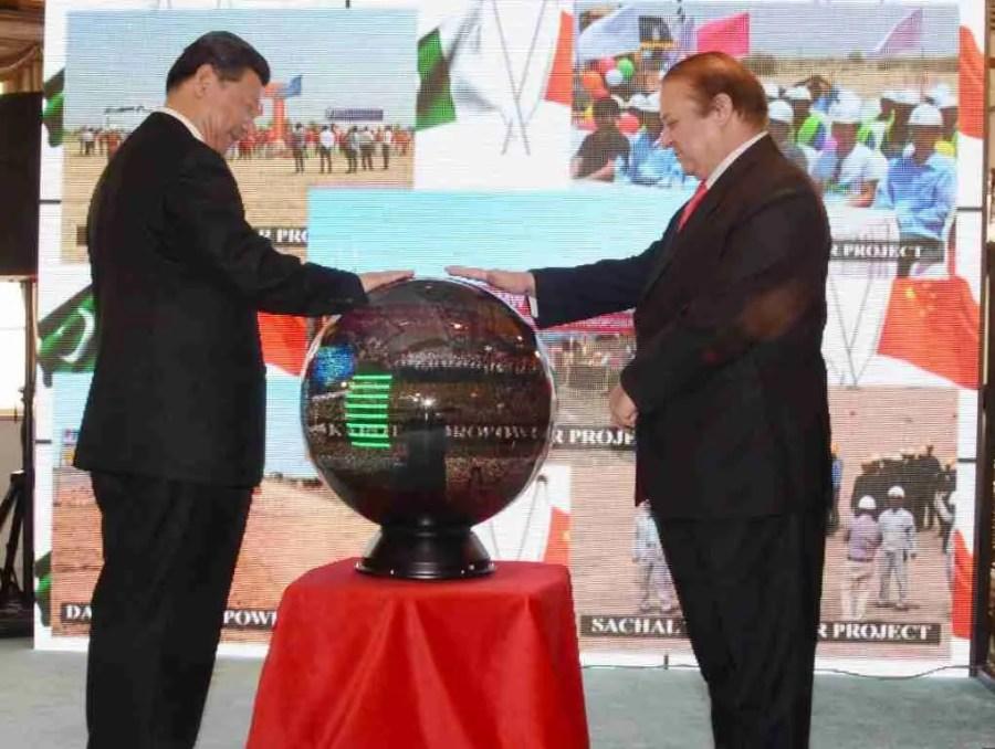 Nawaz Sharif CPEC Xi Jinping