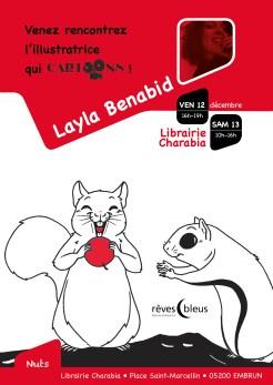 Collection Cartoons - Nuts - Layla Benabid