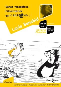 Collection Cartoons - Coster - Layla Benabid