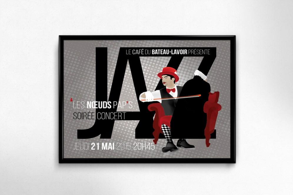 Invitation Jazz, Claire PéhO, Recto