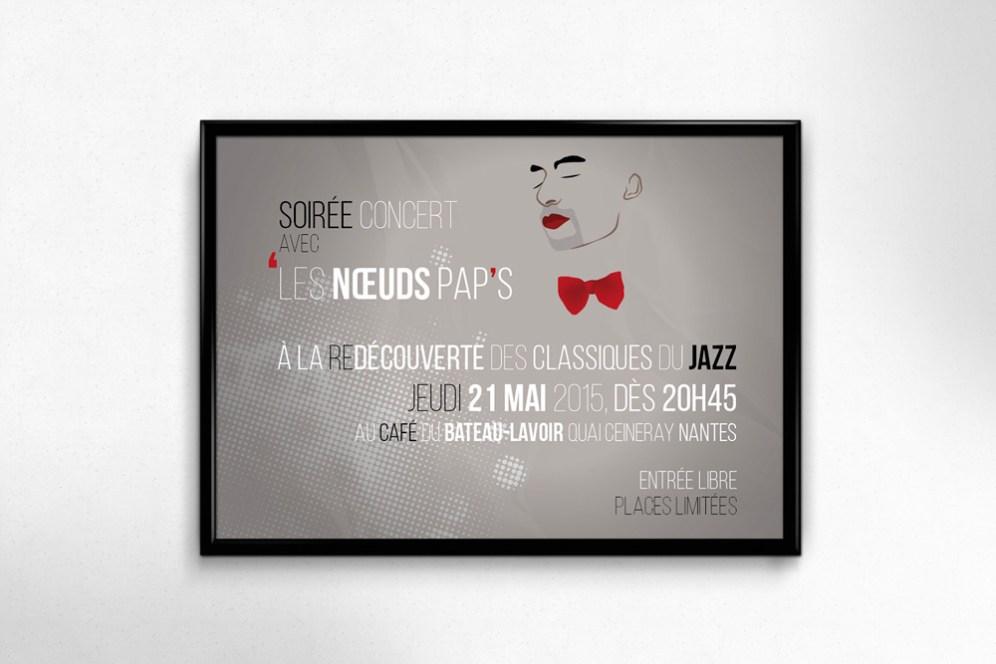 Invitation Jazz, Claire PéhO, Verso