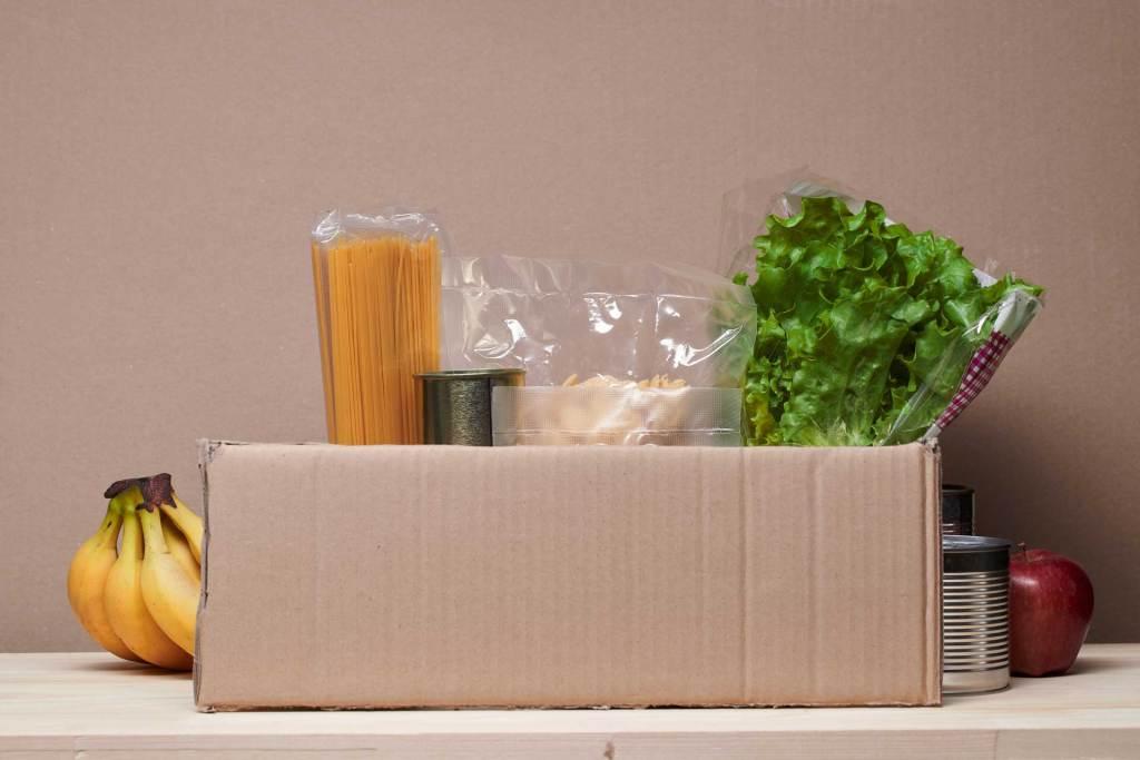 Food box distribution pantries columbia county Oregon