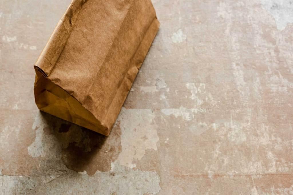 brown paper sack concrete food programs