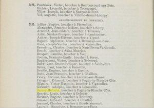 Décision du Conseil Général de la Meuse en 1882 concernant les abattoirs : conseils d'hygiène applicable au couple HARROY-MAHALIN bouchers à Vaucouleurs