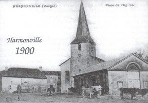 Harmonville église 1900