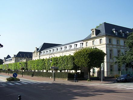 Saint-Cyr-l'Ecole Ecole militaire