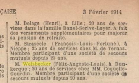 Medaille_WEISBECKER_Felix_Auguste_Louis_1914_Dunkerque