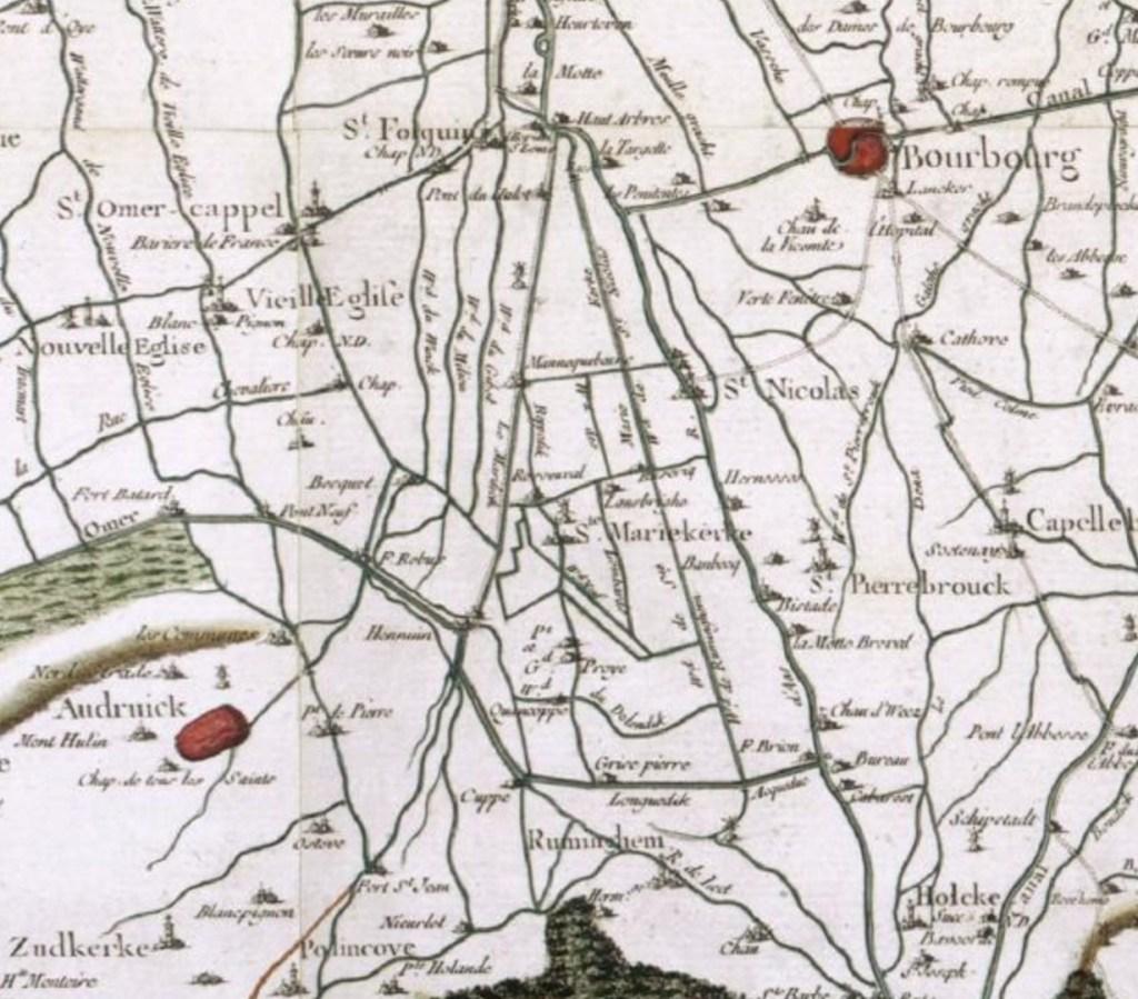 Saint-Folquin et Zutkerque 11 km au Sud Ouest