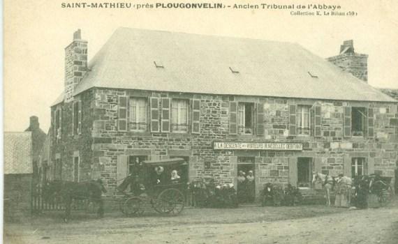 Auberge - Pointe Saint-Mathieu début XXe siècle
