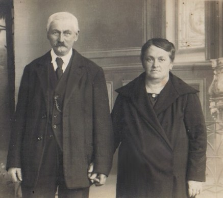 HARROY Berthe et Louis BARBILLON en 1900
