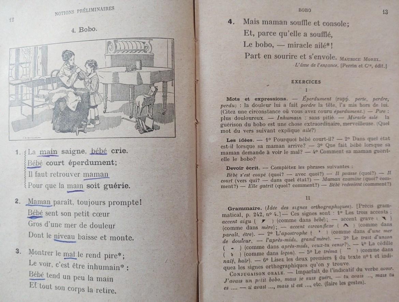 Le Français par les textes - Bobo