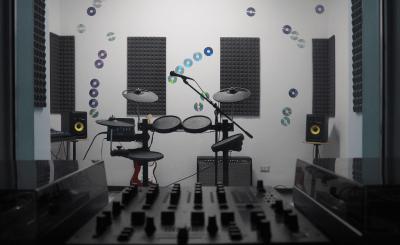 Sala prove musicale