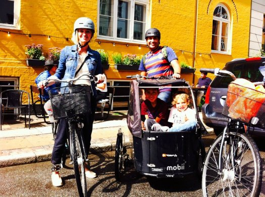 """we-start-and-end-the bike tour at the Meetingpoint at """"café Mellemrummet"""" at Ravnsborggade 11"""