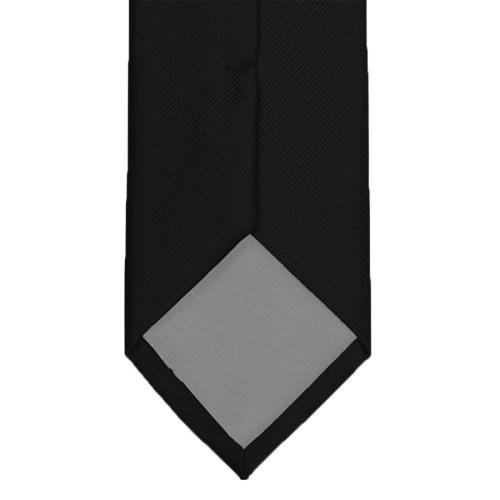 Sort silkeslips bag r29-01b