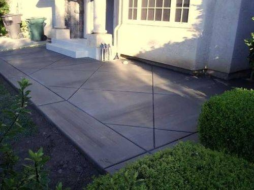 DIY Stamped Concrete Patio | eHow on Diy Concrete Patio Ideas id=51480