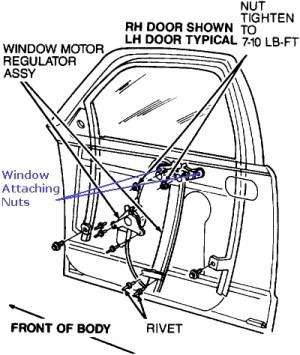 How to Fix a Passenger Side Car Window | It Still Runs